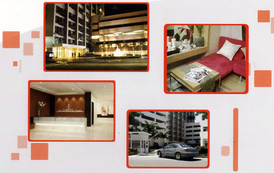 The Capital Towers - Home, Office, Biz, Shop Pads in Quezon City